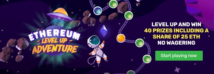 winz casino ethereum adventure promo