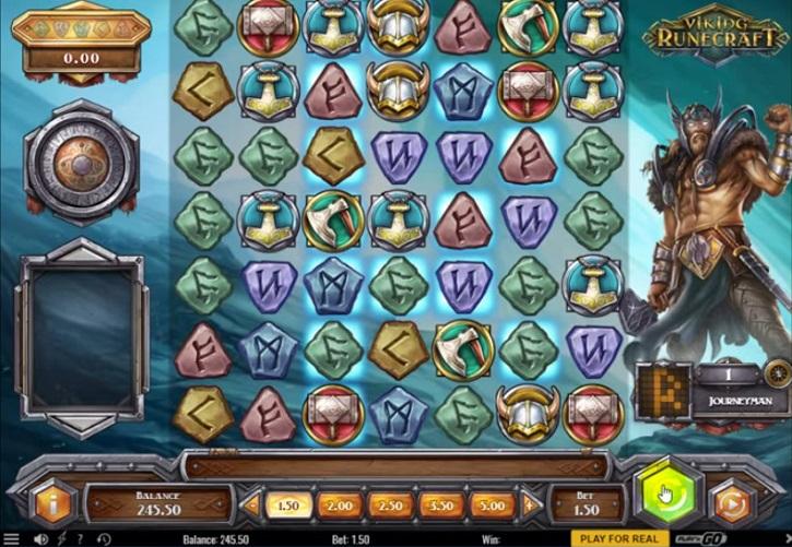 Viking Runecraft slot screen