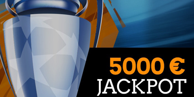 coolbet champions league 5000 eur