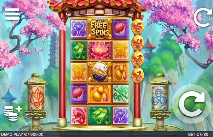 chi slot screen