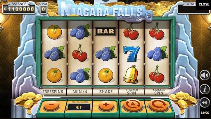 niagara falls slot screen
