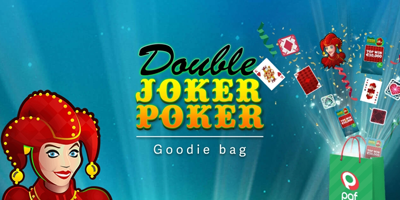 paf kasiino double joker poker goodie bag