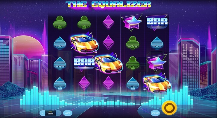 the equalizer slot screen