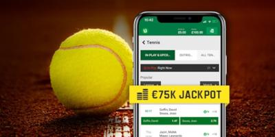 unibet tennis jackpot raffle may