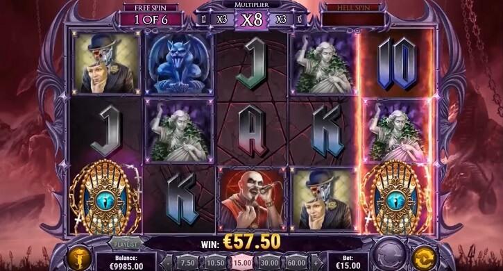 demon slot screen
