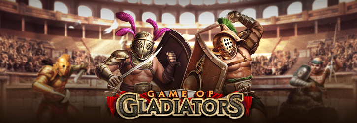 game of gladiators slot playngo