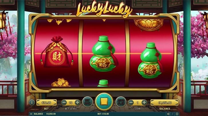 lucky lucky slot screen