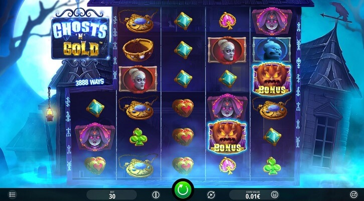 ghost n cold slot screen