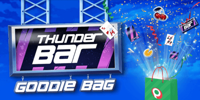 paf kasiino thunderbar goodie bag
