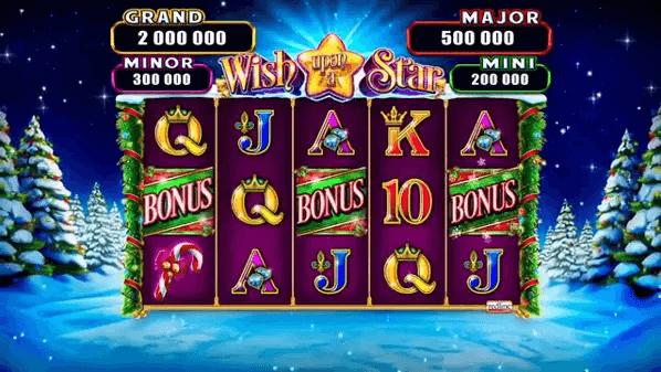 wish upon a star slot screen