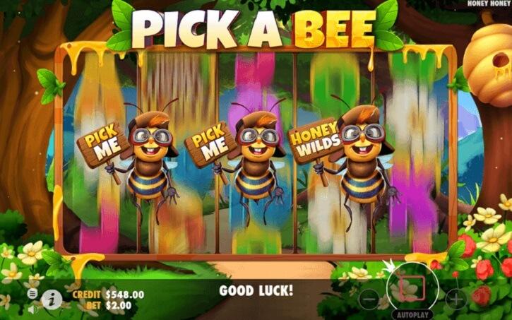 honey honey honey slot bonus