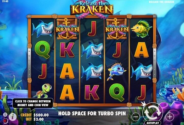 Pragmatic Play   Sloti ülevaade: Release the Kraken (96.50 ...