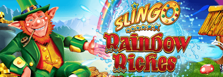 rainbow riches slot slingo