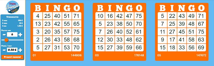triple bingo review