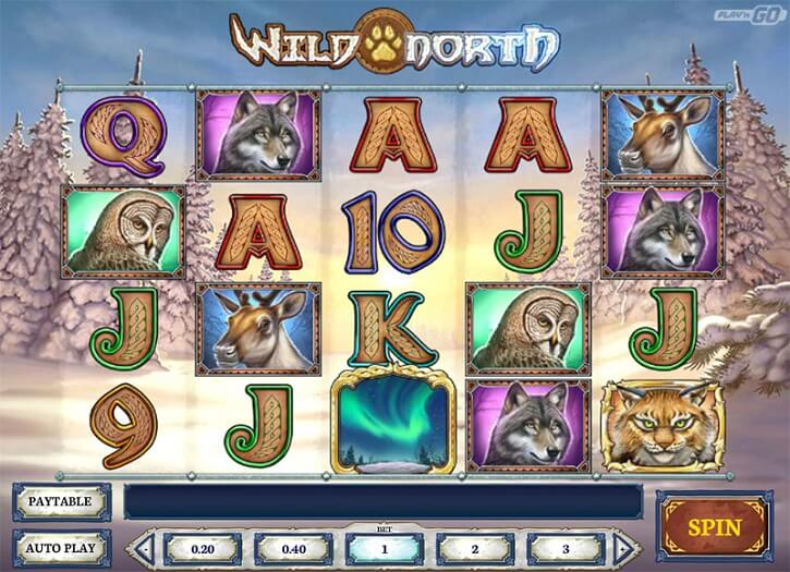 wild north slot screen