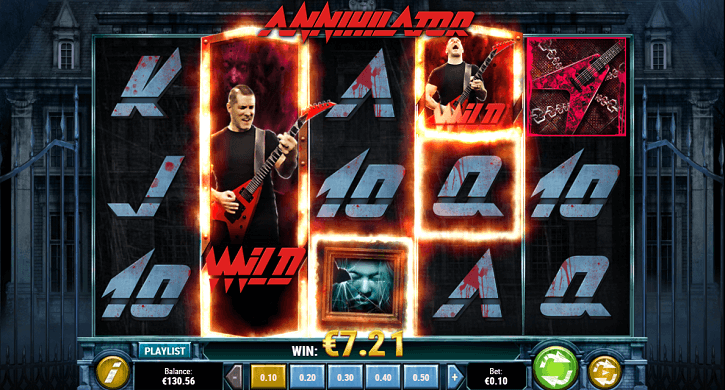 annihilator slot screen