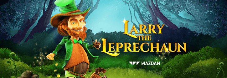 larry the leprechaun slot wazdan