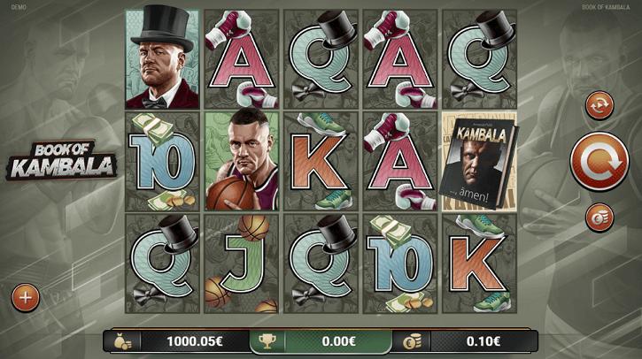 book of kambala slot screen