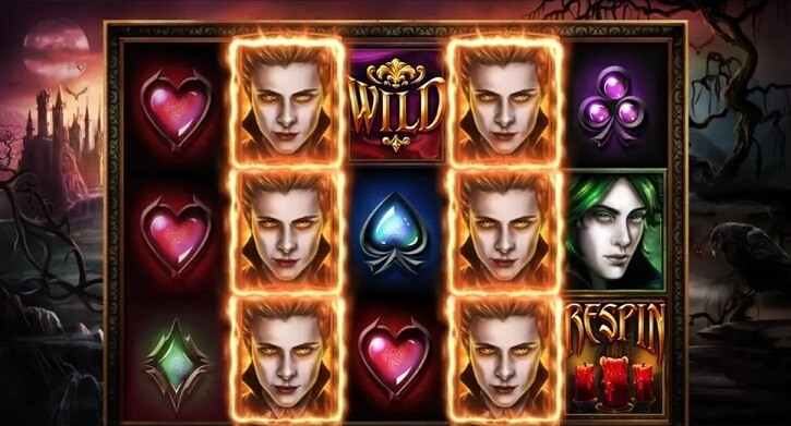 blood lust slot screen
