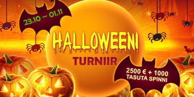 grandx kasiino halloweeni turniir