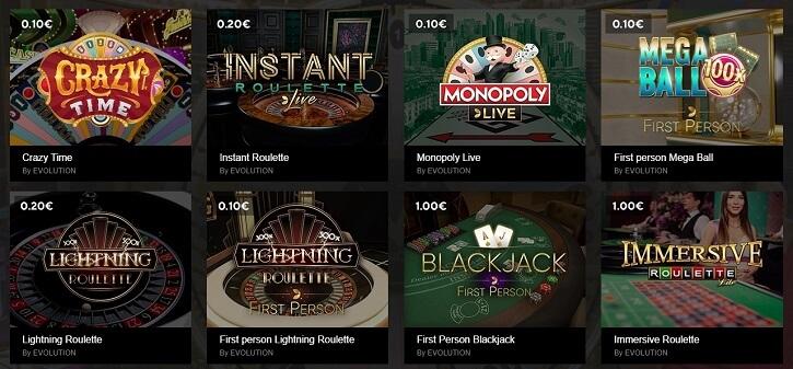 optibet kasiino evolution gaming mangud