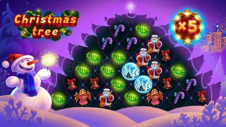 christmas tree slot screen