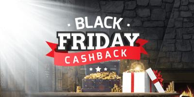 kingswin kasiino black friday cashback