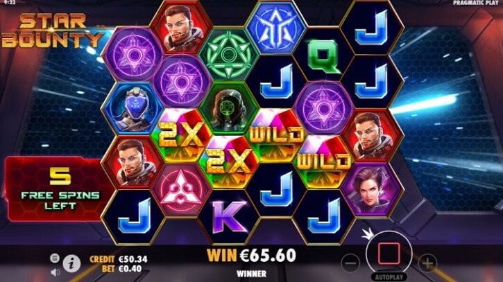star bounty slot screen