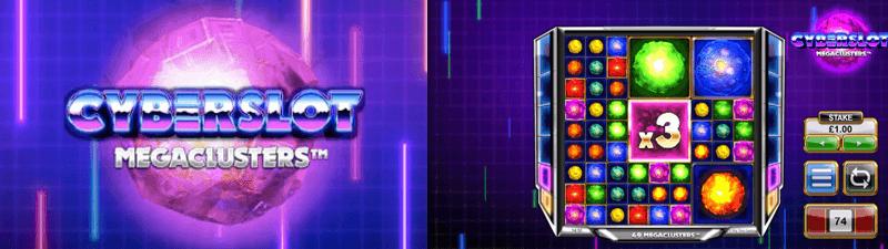 cyberslot megaclusters slot screen