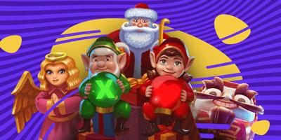 slots kasiino yggdrasil christmas