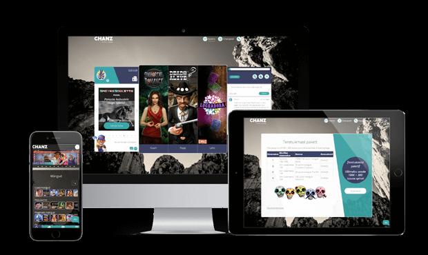 chanz kasiino websites screens