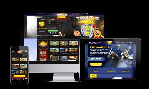 kingswin kasiino websites screens