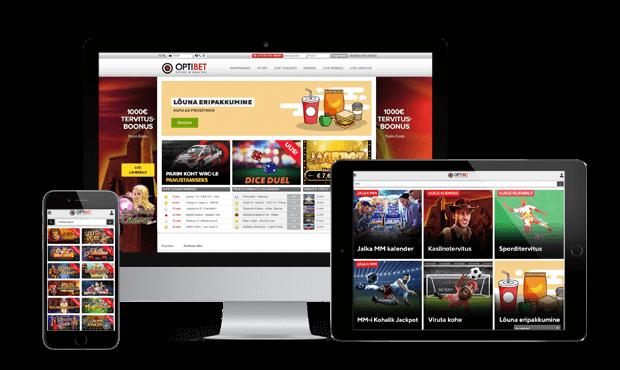 optibet kasiino websites screens