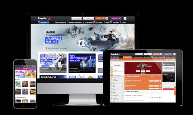 tonybet kasiino websites screens