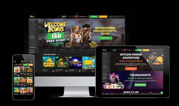 winz casino website screens 2021