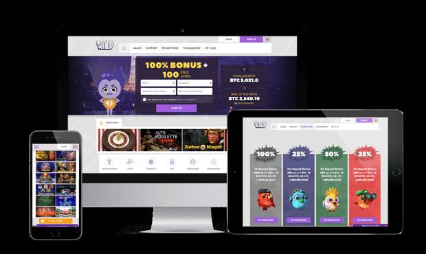 cryptowild casino website mobile