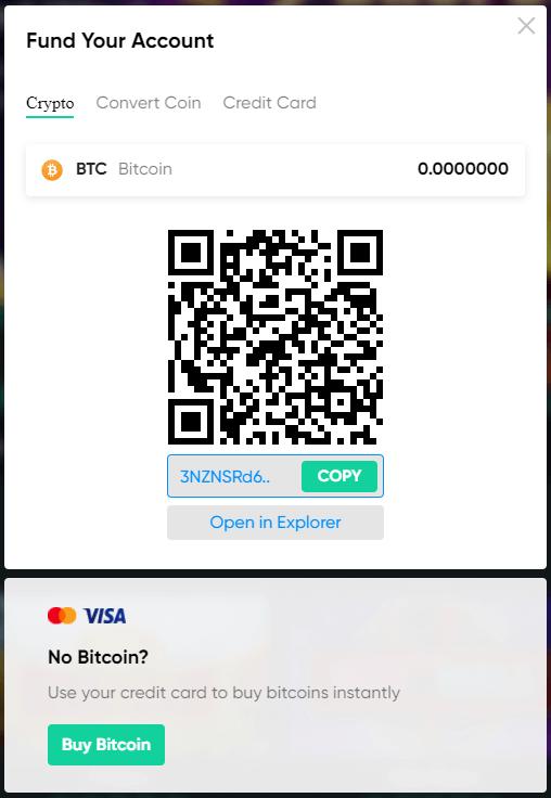 bitcoin.com casino deposit