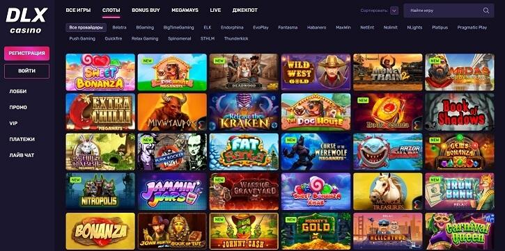dlx casino slots rus