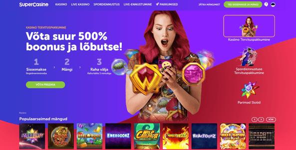 supercasino veebileht